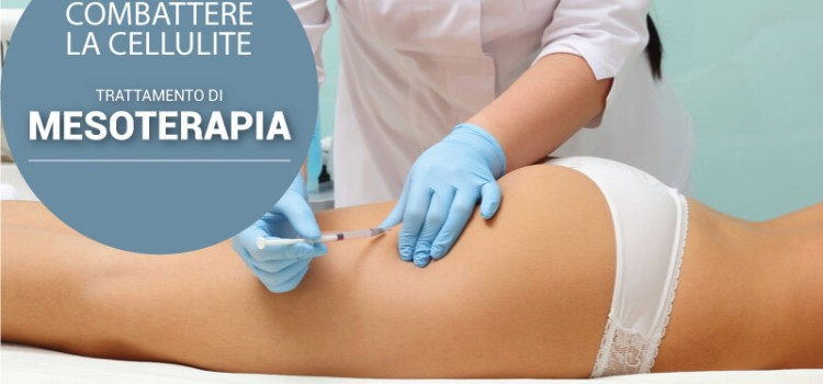 Mesoterapia contro la cellulite.